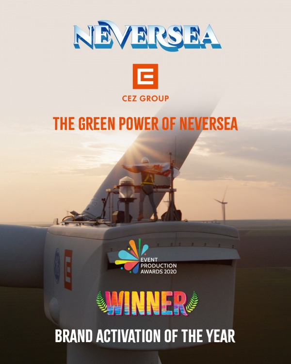 "Recunoastere internationala pentru campania ""The Green Power of NEVERSEA"", la Event Production Awards 2020"
